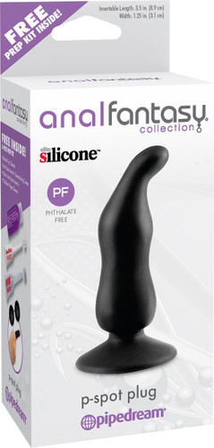 Pipedreams Anal Fantasy Collection P-Spot Plug Black