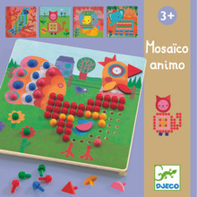 Mosaic Animals Game by Djeco