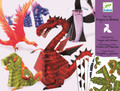 Dragons Paper Toys by Djeco