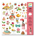 Princess' Tea Party Stickers by Djeco