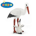 Stork and Baby Stork Figure by Papo
