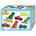Small World Dinosaur and Cars Midi Bead Kit by Hama