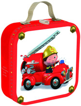 Leon's Firetruck Puzzles by Janod