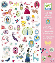 1000 Stickers for Girls by Djeco