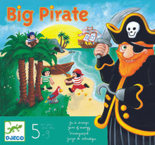 Big Pirates Board Game by Djeco