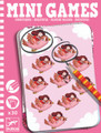 Identical (Pink Box) Mini Games by Djeco