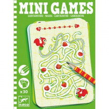 Mazes (Green Box) Mini Games by Djeco