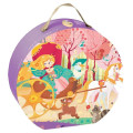 The Princess and the Coach 54 Piece Jigsaw Puzzle by Janod