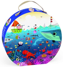 Underwater World 100 Piece Jigsaw Puzzle by Janod