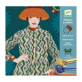 Fashion Glitter Pictures Craft Kit by Djeco