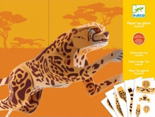 Giant Jaguar Paper Toy by Djeco