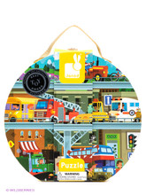 Vehicles 100 Piece Jigsaw Puzzle by Janod