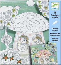 Thumbelina Colouring Surprise Cards by Djeco