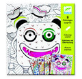 Monsters Colouring Surprise Cards by Djeco