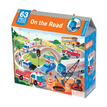 On the Road 63 Piece Jigsaw Puzzle by Mudpuppy