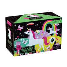 Glow in the Dark Unicorns 100 Piece Jigsaw Puzzle by Mudpuppy