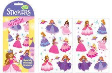 Sparkly Princess Glitter Stickers by Peaceable Kingdom