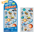 Space Walk Shiny Foil Stickers by Peaceable Kingdom