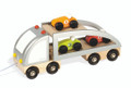 Wooden Multi Car Truck by Janod