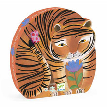 The Tiger's Walk 24 Piece Jigsaw Puzzle by Djeco