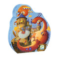 Vaillant & the Dragon 54 Piece Jigsaw Puzzle by Djeco