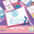 Step by Step Drawing Josephine & Co by Djeco