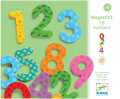 Wooden Magnetic Numbers by Djeco