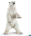 Standing Polar Bear Figure by Papo