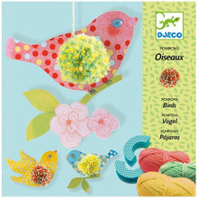 Birds Pompom Making Kit by Djeco