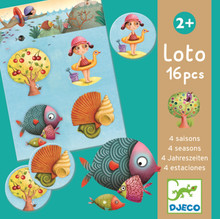 Lotto Four Seasons Game by Djeco