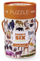 36 Wold Animals 100 Piece Puzzle by Crocodile Creek