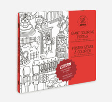 Giant Colouring Poster London by OMY
