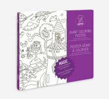 Giant Colouring Poster Magic by OMY