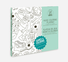 Giant Colouring Poster Games by OMY