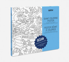 Giant Colouring Poster Ocean by OMY