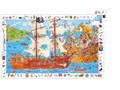 Pirates Observation 100 Piece Jigsaw Puzzle by Djeco