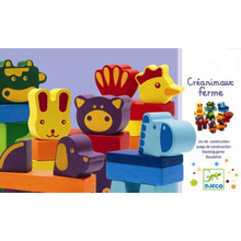 Créanimaux Ferme Stacking Game by Djeco