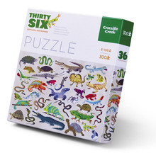 Thirty-Six Reptiles & Amphibians 300 Piece Puzzle by Crocodile Creek