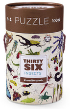 Thirty-Six Insects 100 Piece Puzzle by Crocodile Creek