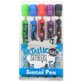 Metallic Gel Smens (Scented Pens) 5 Pack by Scentco