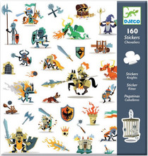 Knights in Armour Stickers by Djeco