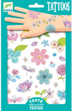 Fair Flowers of the FieldTattoos by Djeco