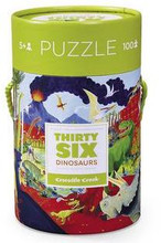Thirty-Six Dinosaurs 100 Piece Puzzle by Crocodile Creek
