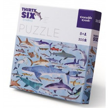 Thirty-Six Sharks 300 Piece Puzzle by Crocodile Creek