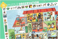 The House Observation 35 Piece Jigsaw Puzzle by Djeco