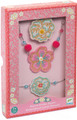 Embroidered Jewels Flowers Jewellery Set by Djeco