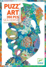 Puzz'art Sea Horse 350 Piece Jigsaw Puzzle by Djeco