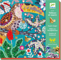 Flamboyant Sequin Pictures Craft Kit by Djeco