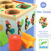 Geo Junzo Shape Sorting Box by Deco