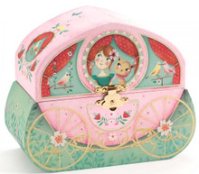 Carriage Ride Musical Jewellery Box by Djeco